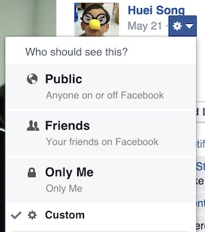 Facebook Change Privacy Settings for Pictures