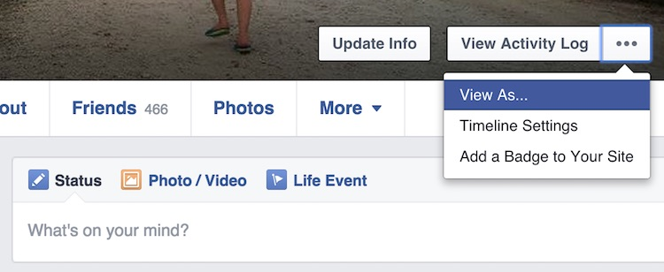 how to know if someone checked your profile on facebook