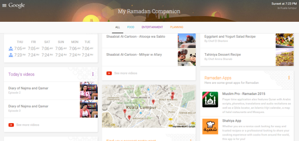Google My Ramadan Companion