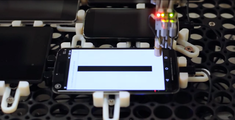 Google Touchbot