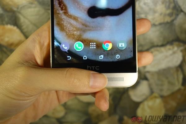 HTC One M9 Plus Design Fingerprint Sensor