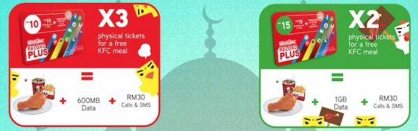 Hotlink ReloadPlus Ramadan Free KFC