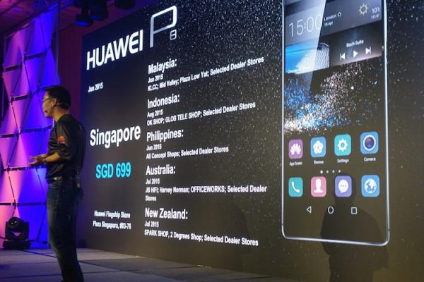 Huawei P8 Malaysia Availability