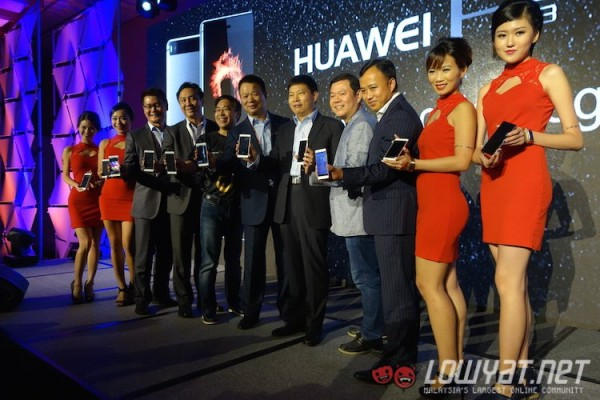 Huawei P8 South Pacific Region Launch