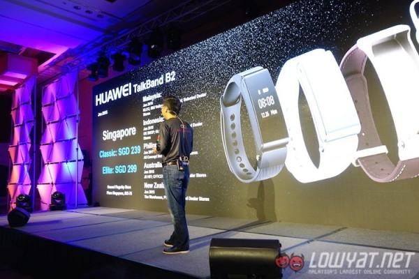 Huawei TalkBand B2 Malaysia Availability