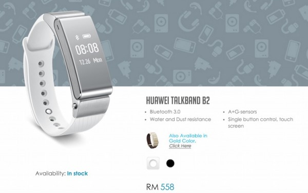Huawei Talkband B2 Price Malaysia Vmall