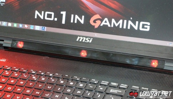 MSI GT72 Prototype Gaming Laptop With Tobii EyeX 05