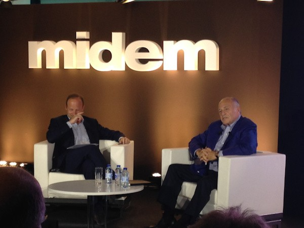 Midem Music and Technology Conference Doug Morris
