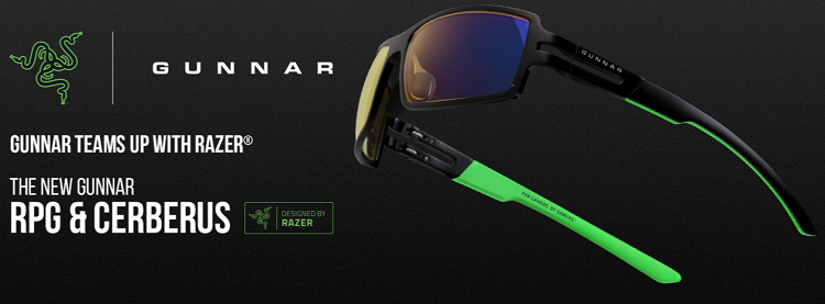 84b25689a017 Razer Teams Up With Gunnar Optiks For New Collection Of Gaming Eyewear