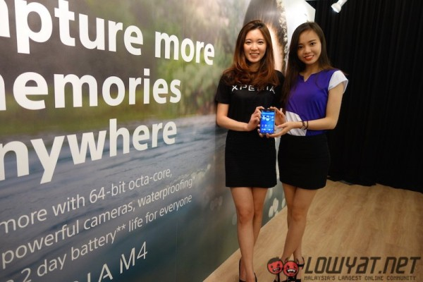 Sony Xperia Z4 Tablet M4 Aqua and C4 Launch