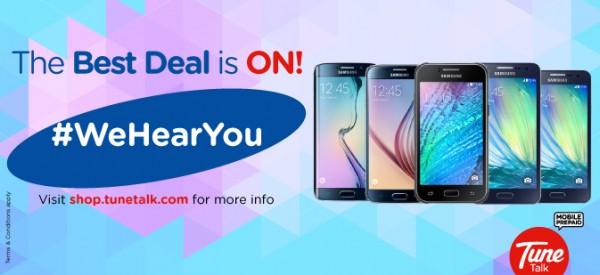 Tune Talk Samsung Bundle