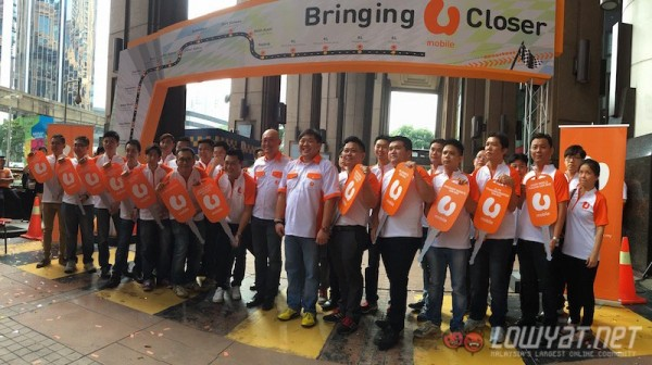 U Mobile Mobile Kiosks Launch