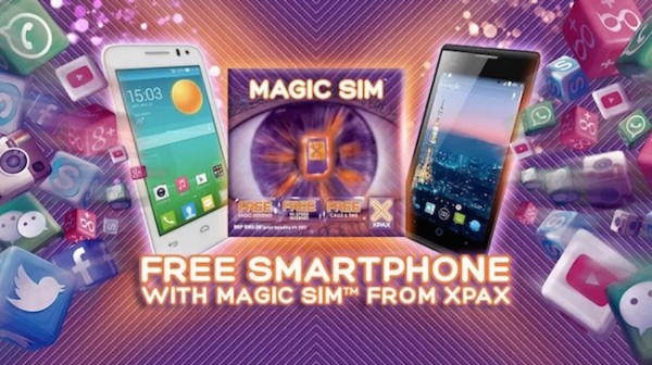 Xpax Magic SIM Phone Bundle