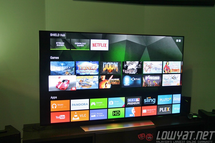 android tv remote shield