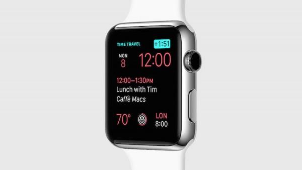 watchOS 2 Digital Crown Time Travel