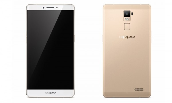 OPPO R7 Plus in Gold Colour