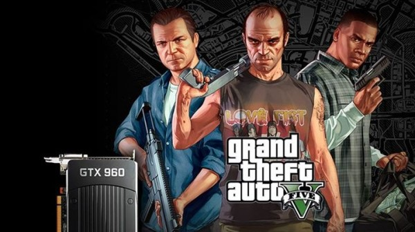 Grand Theft Auto V for PC and NVIDIA GeForce GTX 960