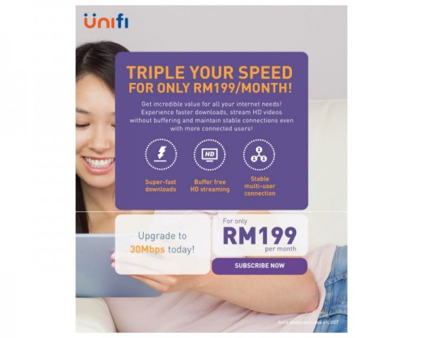 TM UniFi 30Mbps Upgrade EDM