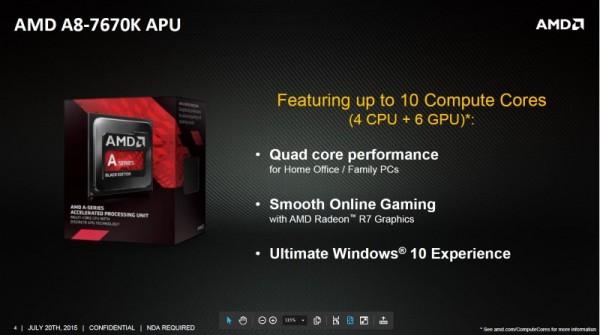 AMD A8-7670K APU
