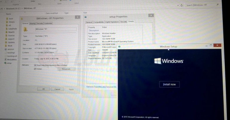 windows 10 installer