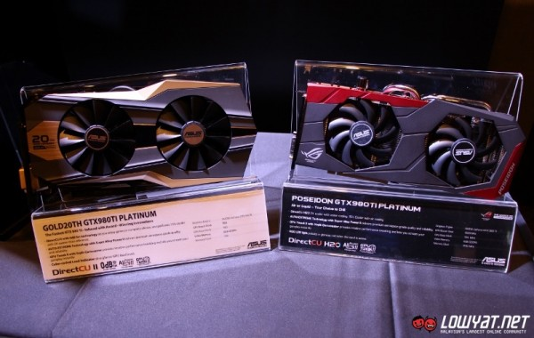 ASUS 20th Anniversary Gold Edition and ROG Poseidon GTX 980 Ti 01
