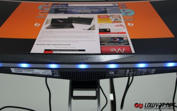 Acer XR341CK UltraWide QHD Curved Monitor Hands On 15