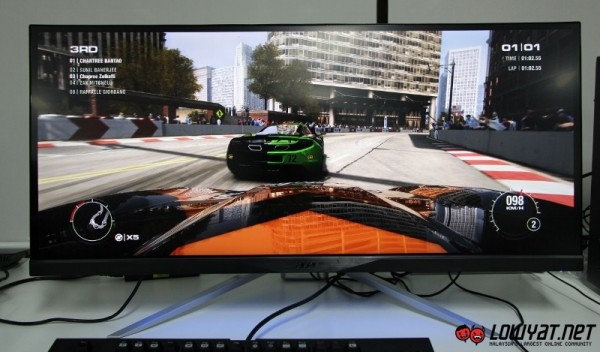 Acer XR341CK UltraWide QHD Curved Monitor Hands On 17