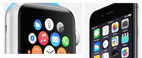 Date on Calendar App for Apple Watch and iPhone 6