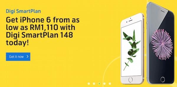 Digi iPhone 6 and iPhone 6 Plus SmartPlan Plans