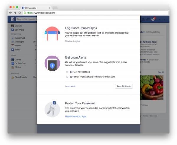 Facebook Security Check 3