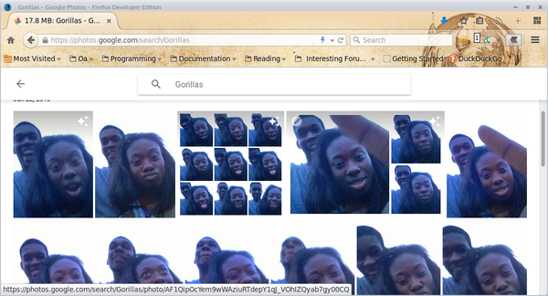 Google Photos Black People Gorilla