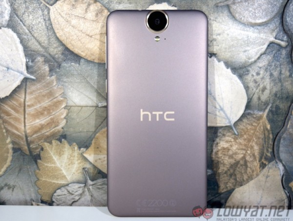 HTC One E9 Plus Back
