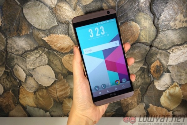 HTC One E9 Plus Hands On