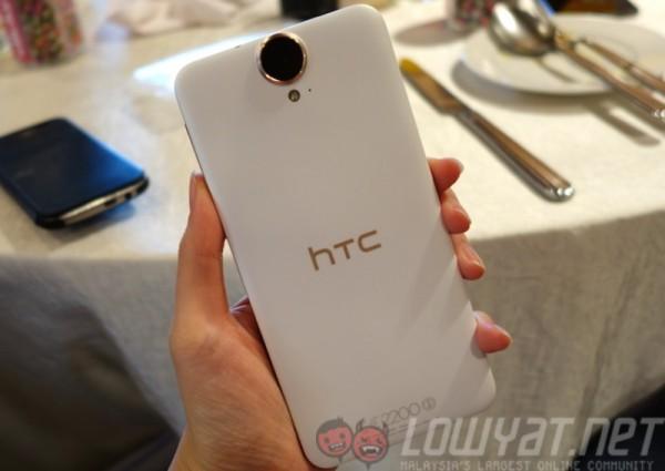 HTC One E9 Plus Rear