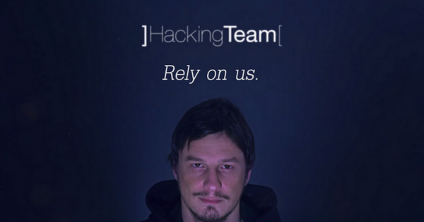 Hacking Team Screenshot