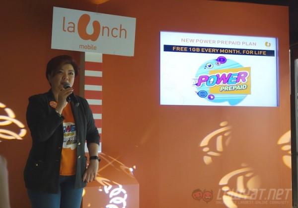 Jasmin Lee U Mobile Power Prepaid Launch
