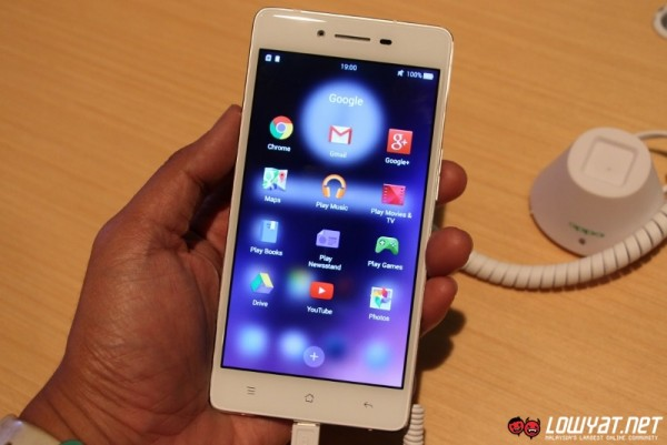 OPPO R7 Lite Hands On 14