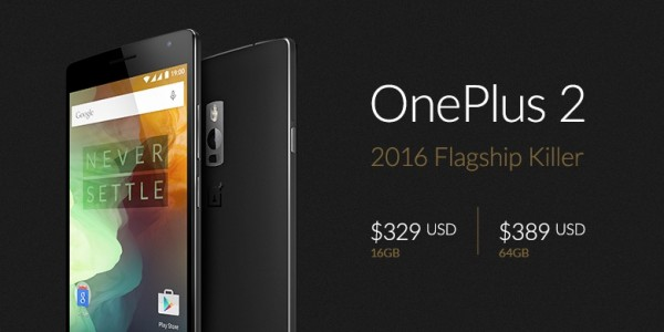 OnePlus 2 2016 Flagship Killer Price