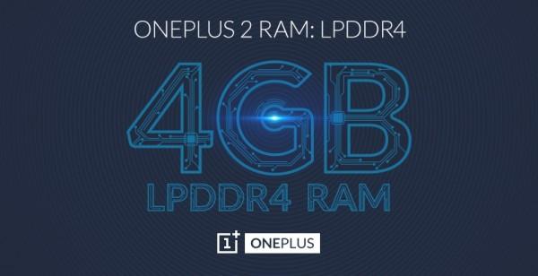 OnePlus 2 4GB LPDDR4 RAM