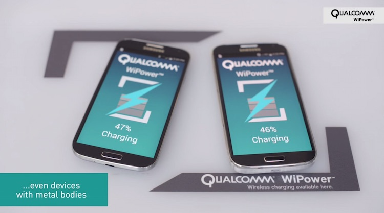 Qualcomm Wireless Charging for Metal Phones
