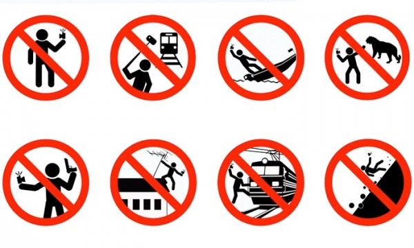 Russia Selfie Safety Campaign