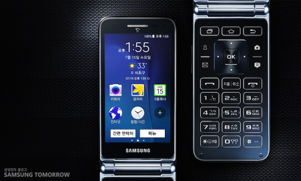 Samsung Galaxy Folder Display and Keypad