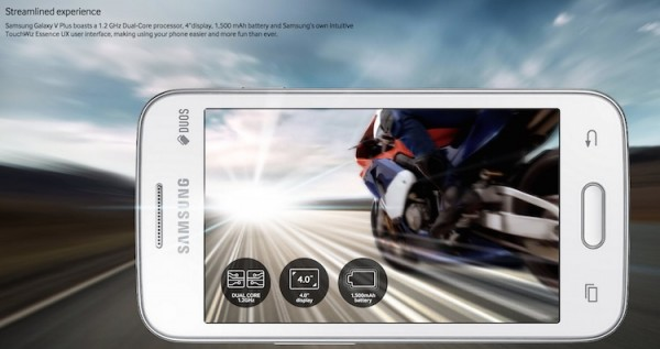 Samsung Galaxy V Plus Specs