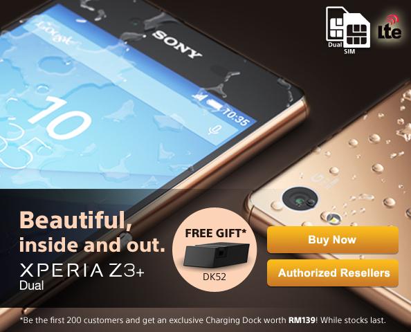 Sony Xperia Z3 Plus Dual Malaysia