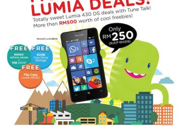Tune Talk Lumia 430 RM250
