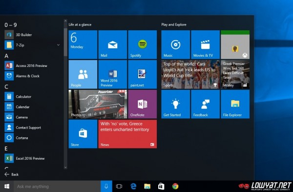 Windows 10 Start Menu 05