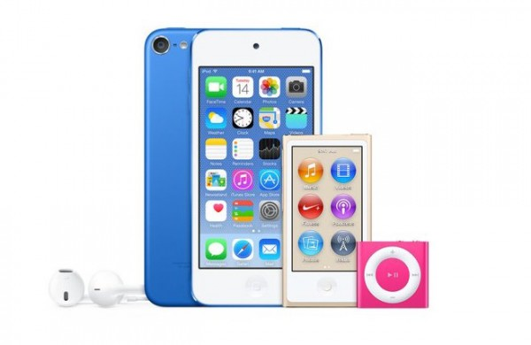 iPod New Colours - Dark Blue, Hot Pink and Gold