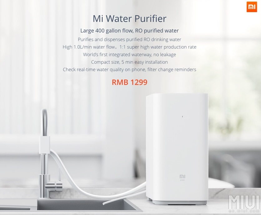 Xiaomi Introduces New Mi Tv 2s And A Smart Water Purifier
