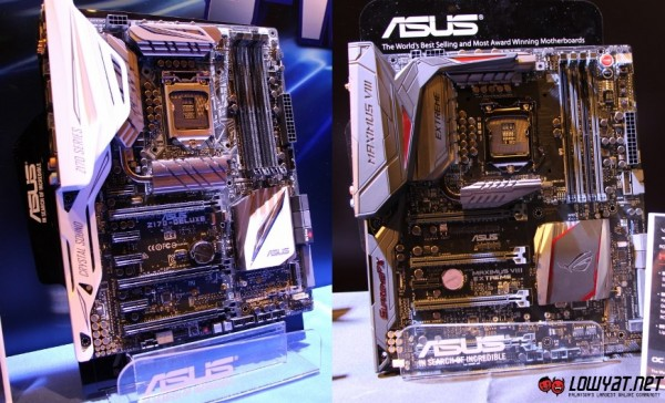 ASUS Z170-Deluxe and ROG Z170 Maximus VIII Extreme