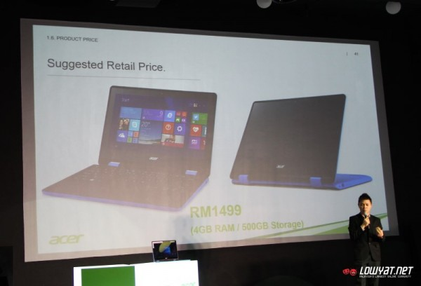 Acer Aspire R11 Malaysian Launch